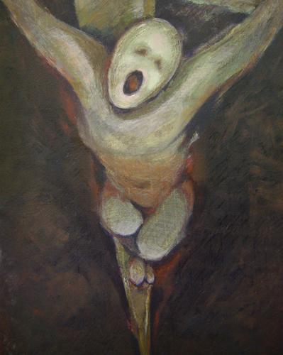 eloi eloi lama sabachthani  dans immagini sacre Kim_Crucifixion_500